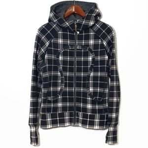 Lululemon Varsity Plaid Scuba Hoodie 8 - excellent